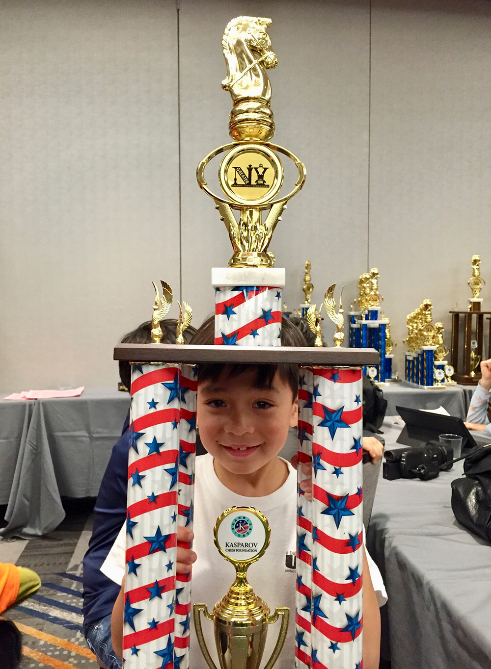 Oliver was crowned New York City Champion at the Kasparov Greater New York Scholastic Chess Championships. February, 2017